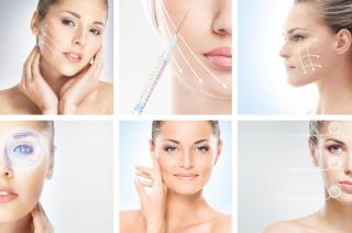 multiple women with face treatments